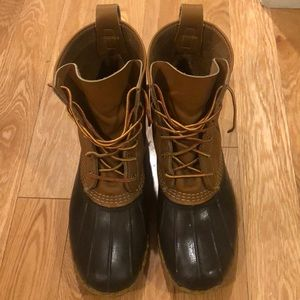 MUST SELL QUICK! Men's Bean Boots
